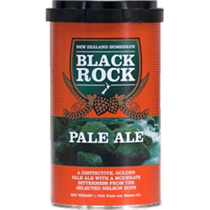 HOME BREW MALTO BLACK ROCK 'PALE ALE'