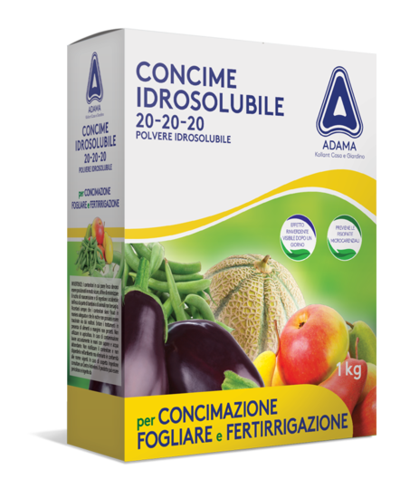 concime 20 20 20 idrosolubile